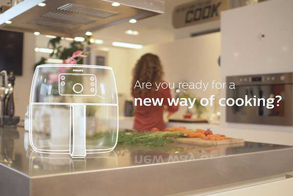 Philips AR Airfryer Promo